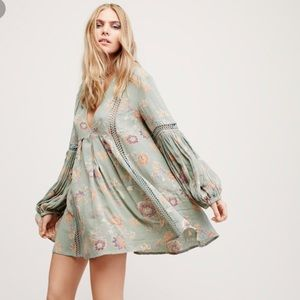Free People Just The Two of Us Dress